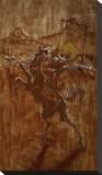 Caught on the Mexican Blackbird Trail Tableau sur toile par David Lozeau