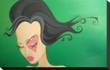 Velours forêt Tableau sur toile par Elaina Soto