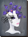 Coccinella Tableau sur toile par Elaina Soto
