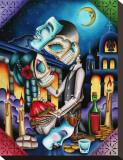 Masquerade Tableau sur toile par Dave Sanchez