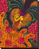 L'envol du phoenix Tableau sur toile par Wesley Jackson
