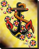 Anchor & Flowers