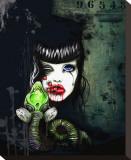 Gas Mask Tableau sur toile par Tegan Coddington