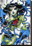 Calmars Tableau sur toile par Tegan Coddington