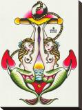 Two Mermaids Tableau sur toile par Sus Alonso