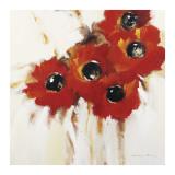 Crimson Poppies I