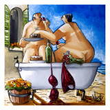 Couple Bathing