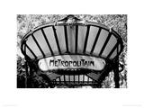 Metro Entrance  Paris