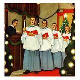 """""""Boys Christmas Choir""""  December 26  1953"""