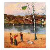 """Kite in the Tree""  March 10  1956"