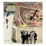 """Sidewalk Sideshow""  November 21  1959"