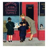 """Bunnies for Sale""  April 12  1952"