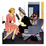 """Gossiping Neighbor""  May 12  1951"