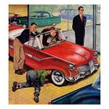 """Automobile Showroom""  December 8  1956"