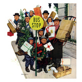 """Bus Stop at Christmas""  December 13  1952"
