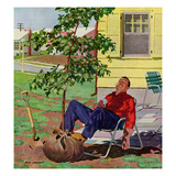 """""""Shade Tree"""", April 12, 1958 Giclée par Richard Sargent"""