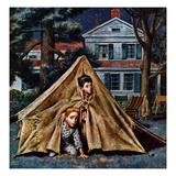 """""""Backyard Campers""""  September 5  1953"""