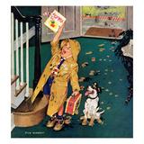 """Happy Mother's Day"", May 11, 1957 Giclée par Richard Sargent"