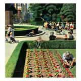"""""""City Park""""  June 5  1954"""
