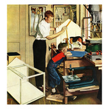 """Building a Doghouse""  November 27  1954"