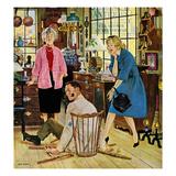 """""""Broken Antique Chair""""  June 20  1959"""
