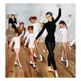 """""""Ballet Class""""  November 3  1956"""
