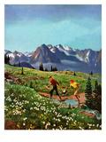 """Picnic On Mt Ranier""  July 17  1954"