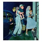 """""""Home at Last"""", September 1, 1951 Giclée par George Hughes"""