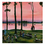 """Evening Picnic""  August 18  1951"