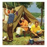 """""""Three Generations Camping""""  May 30  1953"""