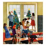 """Classroom Christmas""  December 8  1951"