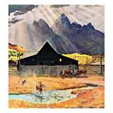 """""""Ride 'Em Cowboy""""  September 21  1957"""