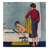 """Scuba in the Tub""  November 29  1958"