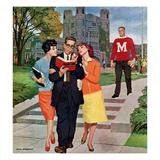 """Picking Poindexter"", October 17, 1959 Giclée par Richard Sargent"