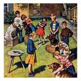 """""""Backyard Dog Show""""  July 8  1950"""