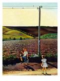 """""""Muddy Walk Home""""  May 13  1950"""