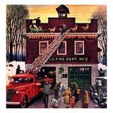 """Christmas at the Fire Station""  December 16  1950"