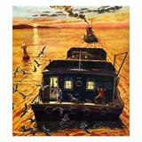 """""""Barges""""  April 6  1957"""