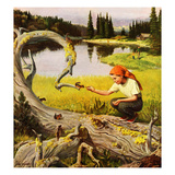 """Feeding Chipmunks""  May 16  1953"