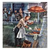 """""""Rainy Barbecue""""  July 28  1951"""