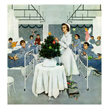"""Children's Ward at Christmas""  December 25  1954"