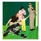 """""""Puppy Sale""""  October 6  1951"""