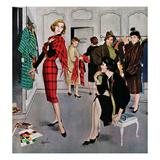 """Perfect Fit"", January 10, 1959 Giclée par George Hughes"