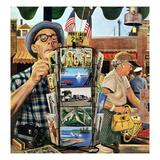 """Postcards""  August 25  1951"