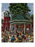 """Patriotic Band Concert""  July 7  1951"