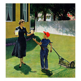 """Lemonade for the Lawnboy""  May 14  1955"