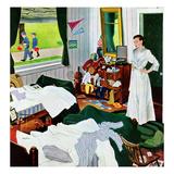 """Messy Room  Neat Boys""  October 22  1955"