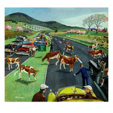 """Slow Mooving Traffic""  April 11  1953"