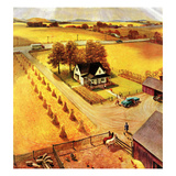 """Thanksgiving on the Farm""  November 26  1955"