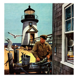 """Lighthouse Keeper""  June 26  1954"